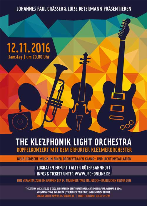 12.11.2016 / Klezponik Light Orchestra
